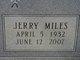 "Sgt Jerry Miles ""Buck"" Pierce"