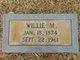"""William M """"Willie"""" Page"""