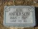 Profile photo:  Ada <I>Cook</I> Anderson
