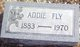 Profile photo:  Addie A. <I>Neely</I> Fly