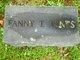 Fanny Tower <I>Milliken</I> Jones
