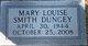 Mary Louise <I>Smith</I> Dungey