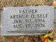 Profile photo:  Arthur O. Self