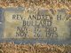 Rev Andrew H. Bullard