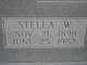 Stella Pearl <I>Walker</I> Young