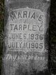 Mariah E <I>Richardson</I> Tarpley