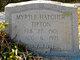 Myrtle Maude <I>Woodby</I> Hatcher Tipton