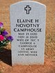 Profile photo:  Elaine H <I>Novotny</I> Camphouse