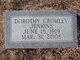 Profile photo:  Dorothy <I>Cromley</I> Jenkins