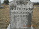 Profile photo:  A. J. Dodson