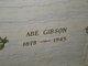 """Profile photo:  Abram """"Abe"""" Gibson"""