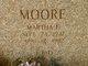 Martha F Moore