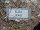 Eliza <I>Hall</I> Lewis