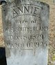 Annie <I>Thigpen</I> Southerland