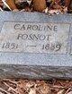 Caroline <I>Isanogel</I> Fosnot