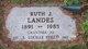 Anna Lucille <I>Landes</I> Hosey