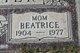 Beatrice <I>Lay</I> Doshier