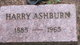 Harry Sanford Ashburn