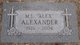 "Profile photo:  M. L. ""Alex"" Alexander"
