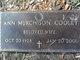 Profile photo:  Ann <I>Murchison</I> Cooley