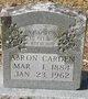 Profile photo:  AAron Carden
