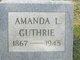 Amanda Lydia <I>Pierce</I> Guthrie
