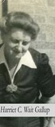 Harriet Catherine <I>Wait</I> Gallup