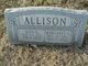 Profile photo:  Alva G. Allison