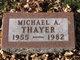 Profile photo:  Michael A Thayer