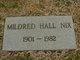 Mildred <I>Hall</I> Nix
