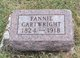 Fannie Cartwright