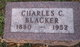 Profile photo:  Charles Clarence Blacker