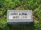 """Lena """"Linnie"""" <I>Blackledge</I> Paden"""