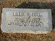 Lillie M <I>Williams</I> Hill