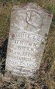"""Profile photo:  Gorda Lee """"Gordie"""" Brown"""