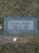Marion Kirtley Inman