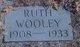 Ruth <I>Whisnatt</I> Wooley