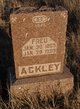 Profile photo:  Fred Ackley