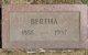 Bertha Hudson