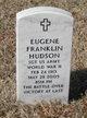 SGT Eugene Franklin Hudson