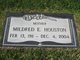 Mrs Mildred E Houston