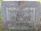 Frances Louise Roof