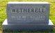 Iva Myrtle <I>Fridley</I> Wetherell
