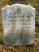 Profile photo:  Abraham M. Alderfer