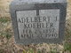 Profile photo:  Adelbert J Koehler