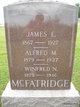Profile photo:  Alfred M. McFatridge