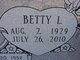 Betty Louise <I>Tankersley</I> Owens