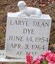 Profile photo:  Laryl Dean Dye