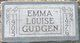 Emma Louise <I>Jones</I> Gudgen