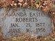 Amanda <I>Easter</I> Roberts